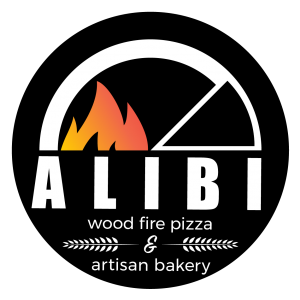 Alibi Wood Fire logo